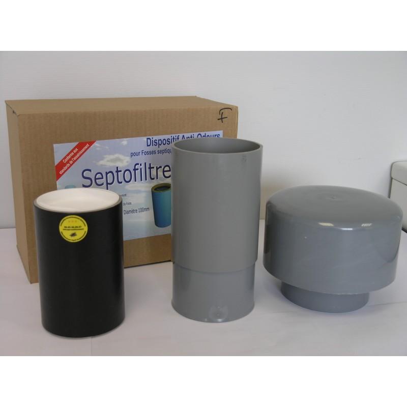 Composants du kit cartouche anti-odeurs