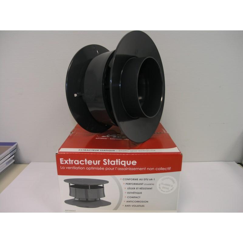 extracteur statique NICOLL agréé DTU 64.1