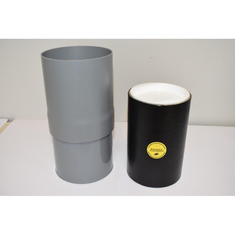 Cartouche anti-odeurs fosse septique et manchon de protection