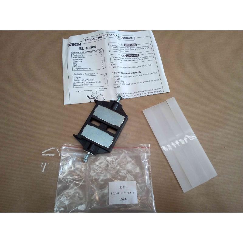 Kit aimant SECOH EL-S-60 et EL-S-80-15