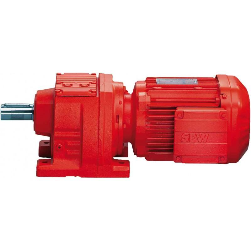 Motoréducteur à engrenages cylindriques SEW-USOCOME RF27 DRS71S4/C