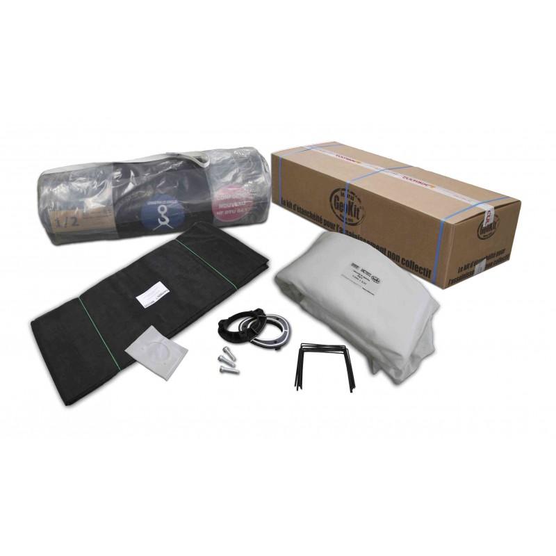 Geokit kit filtre a sable drainé PVC 1 mm