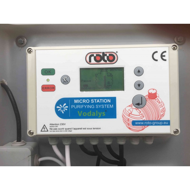 Automate Vodalys Roto 6 EH