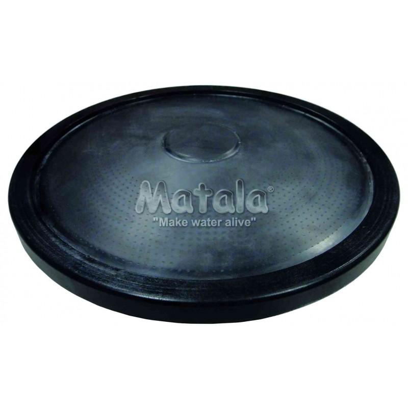 Disque diffuseur d'air bassin lesté débit 0,5 l/mn à 15 l/mn