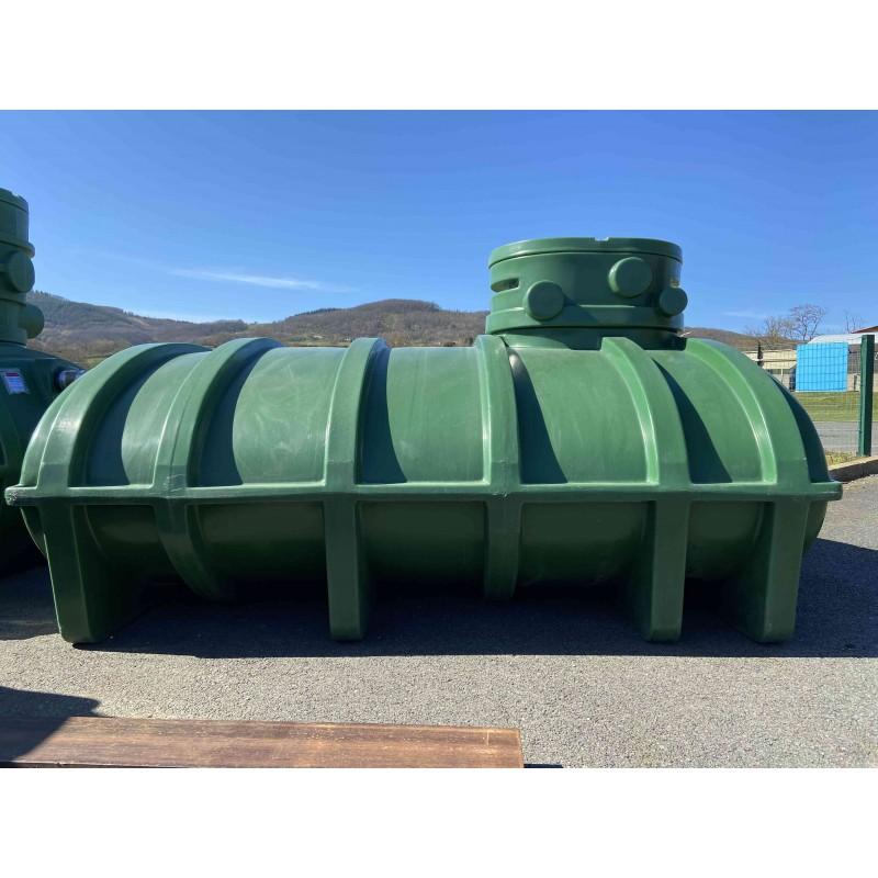 Récupérateur eau de pluie 6000 litres à enterrer