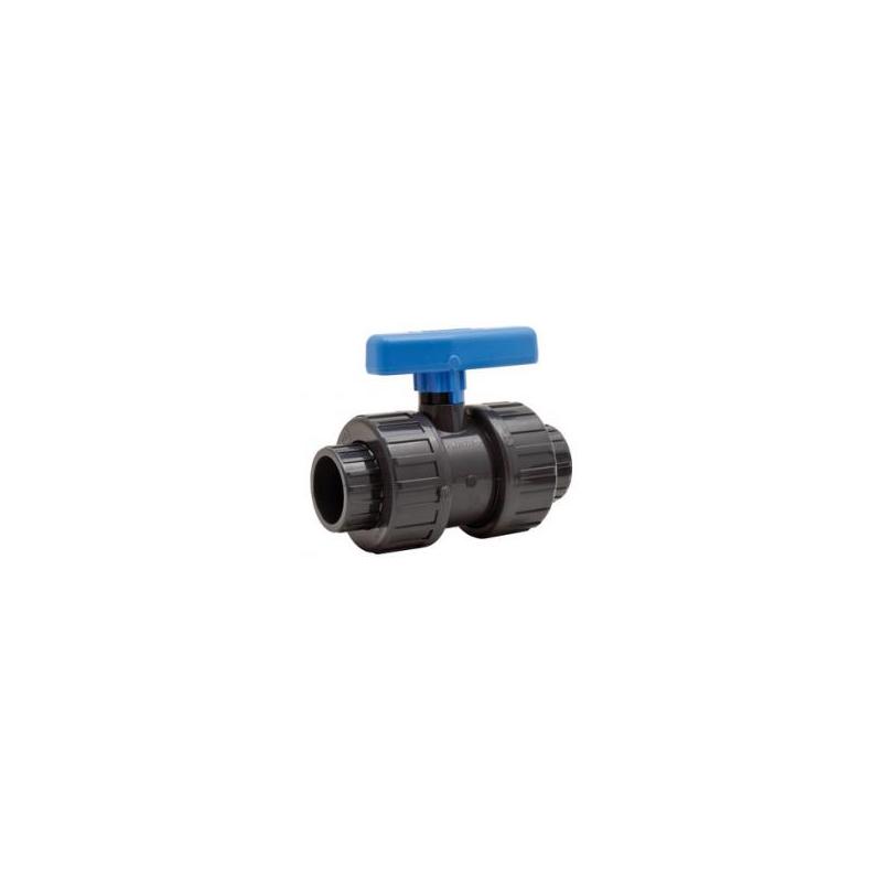 Vanne PVC diamètre 40 spécial eaux chargées