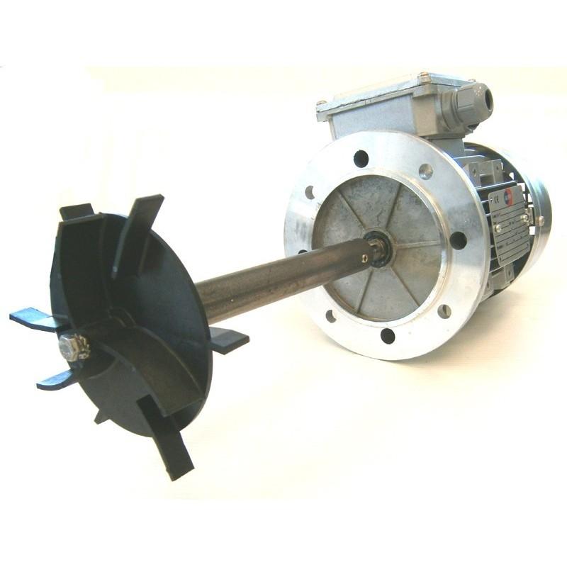 Moteur Épuration VOR + Arbre + Turbine