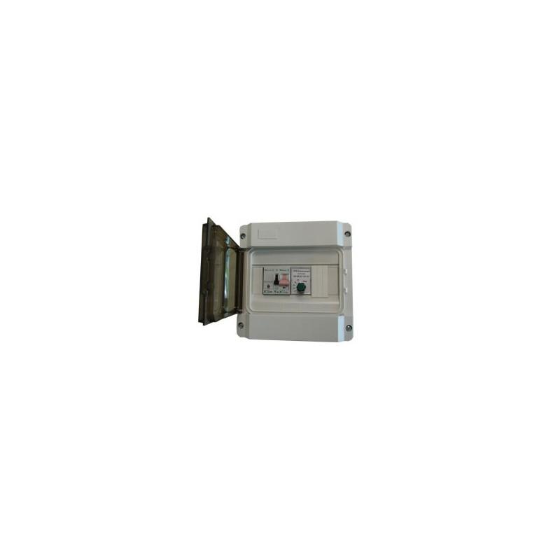 Coffret de commande électromécanique mono pour microstation