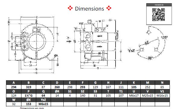 Dimensions 4RB210