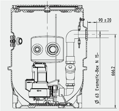 installation EVAMATIC 1501