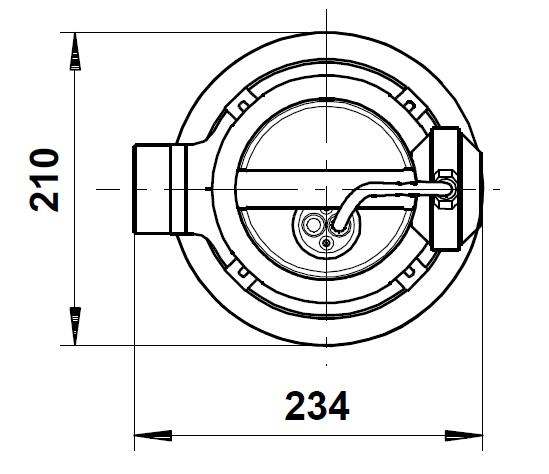 pompe grundfos unilift AP35B diamètre encombrement