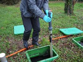 NIVO Mesure du niveau des boues